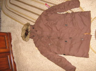NWOT Alpha Industries Chestnut colored Parka for sale