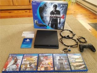 Uncharted 4 Playstation bundle with additional games