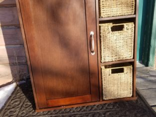 Bathroom Hanging Cupboard With Drawers